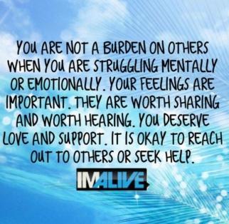 not a burden